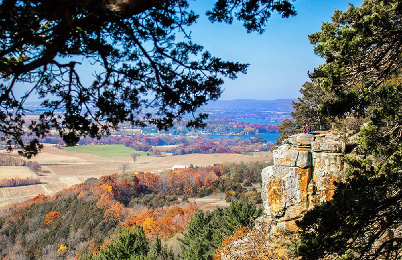 Gibraltar Rock Wisconsin
