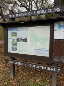 Rockwoods Reservation Sign