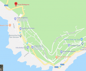 Hotel Pellegrino Location