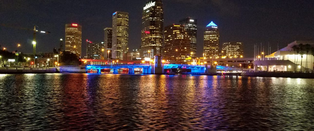 Tampa Skyline from Water Taxi